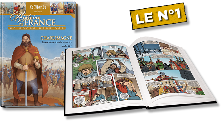 Le N°1 : Charlemagne + 8 pages de cahier documentaire !