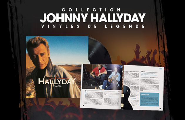 Collection Johnny Hallyday - Vinyles de légende